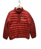 Patagonia(パタゴニア)の古着「ダウンスナップTPOジャケット」|レッド