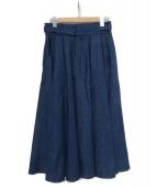 SINME(シンメ)の古着「グルカスカート」|インディゴ