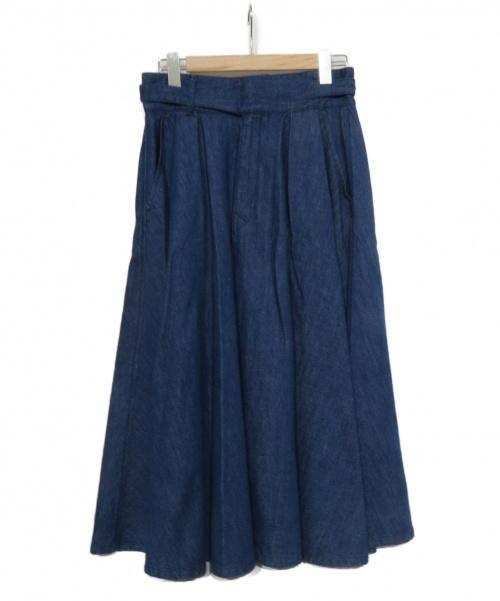 SINME(シンメ)SINME (シンメ) グルカスカート インディゴ サイズ:表記W29 定価¥32000+TAXの古着・服飾アイテム