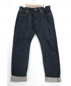 Stevenson Overall Co.(スティーブンソン オーバーオール)の古着「セルビッチデニムパンツ」|インディゴ