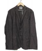 BEAUTY&YOUTH(ビューティアンドユース)の古着「リネン混テーラードジャケット」|グレー