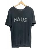 GOLDEN GOOSE(ゴールデングース)の古着「プリントTシャツ」|グレー