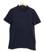 PRADA(プラダ)の古着「ポロシャツ」|ネイビー