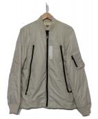 TATRAS(タトラス)の古着「MA-1ジャケット」 アイボリー