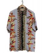 SUN SURF(サンサーフ)の古着「アロハシャツ」 グレー