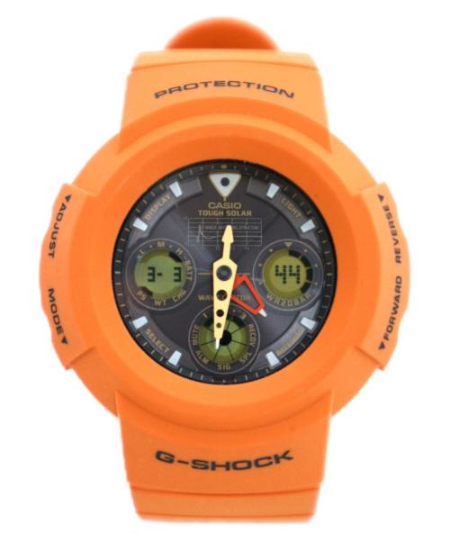 CASIO(カシオ)CASIO (カシオ) リストウォッチ G-SHOCK AWG-M100MR-4AJF レスキューオレンジの古着・服飾アイテム