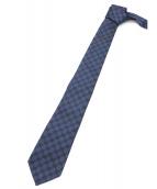 GUCCI(グッチ)の古着「総柄ネクタイ」 ネイビー