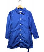 GRANDMA MAMA DAUGHTER(グランマ ママ ドーター)の古着「シングルコート」|ブルー