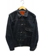FULLCOUNT(フルカウント)の古着「デニムジャケット」|インディゴ