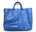 BOTTEGA VENETA(ボッテガベネタ)の古着「ハンドバッグ」|ブルー
