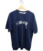 stussy(ステューシー)の古着「半袖スウェット」 インディゴ