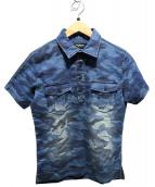 1piu1uguale3 relax(ウノピョウ ノウグァーレトレ リラックス)の古着「ポロシャツ」|インディゴ
