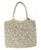 ANTEPRIMA(アンテプリマ)の古着「ミニワイヤーハンドバッグ」|ホワイト