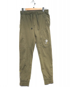 RLX RALPH LAUREN(アールエルエックス)の古着「ジョガーパンツ」 オリーブ