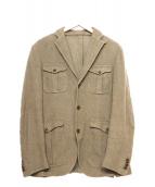 RING JACKET(リングジャケット)の古着「サファリシャツジャケット」|ベージュ