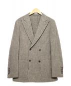 RING JACKET(リングジャケット)の古着「ダブルウールジャケット」|グレー