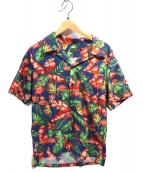 SCHOTT BROS.(ショットブロス)の古着「アロハシャツ」|ブルー