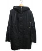 ck Calvin Klein(シーケーカルバンクライン)の古着「フーデッドコート」|ブラック
