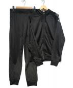 EMPORIO ARMANI EA7(エンポリオ アルマーニ イーエーセブン)の古着「セットアップジャージ」|ブラック