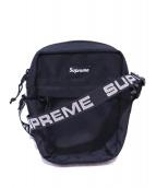 Supreme(シュプリーム)の古着「テープロゴショルダーバッグ」 ブラック