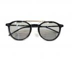 金子眼鏡(カネコメガネ)の古着「クリップオンサングラス」|ブラック