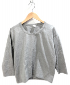 ELIN(エリン)の古着「7分袖Tシャツ」|グレー
