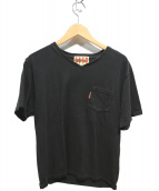 WEIRDO(ウィアード)の古着「ポケットTシャツ」|ブラック