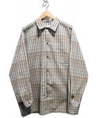JOURNAL STANDARD relume(ジャーナルスタンダードレリューム)の古着「ビッグシルエットシャツ」|ブラウン