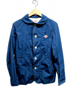 DANTON(ダントン)の古着「ショールカラージャケット」|ブルー