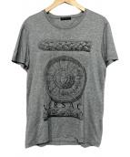 VERSACE(ヴェルサーチ)の古着「半袖Tシャツ」|グレー