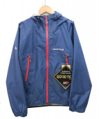 mont-bell(モンベル)の古着「レインダンサージャケット」|ブルー
