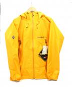 mont-bell(モンベル)の古着「レインダンサージャケット」|イエロー