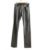 Dior Homme(ディオールオム)の古着「スキニーデニムパンツ」|グレー