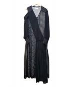 ADEAM(アディアム)の古着「ワンピース」|ブラック