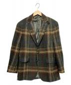 POLO RALPH LAUREN(ポロラルフローレン)の古着「ウールテーラードジャケット」|オリーブ