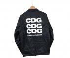 COMME des GARCONS×GOOD DESIGN SHOP(コムデギャルソン×グッドデザインショップ)の古着「コーチジャケット」|ブラック