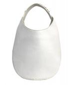 FABIO RUSCONI(ファビオルスコーニ)の古着「ハンドバッグ」|ホワイト