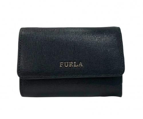 FURLA(フルラ)FURLA (フルラ) 2つ折り財布 ブラックの古着・服飾アイテム