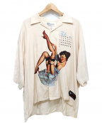DAIRIKU(ダイリク)の古着「オープンカラーシャツ」 アイボリー