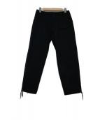 kolor/BEACON(カラービーコン)の古着「サージアンクルカットミリタリーパンツ」|ネイビー