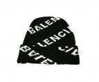 BALENCIAGA(バレンシアガ)の古着「AQUARD LOGO WOOL Beanie」|ブラック