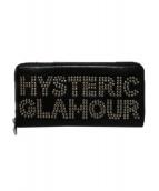 Hysteric Glamour(ヒステリックグラマー)の古着「スタッズ長財布」|ブラック