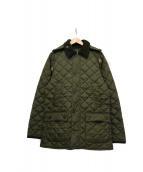Barbour(バブアー)の古着「キルティングコート」|カーキ
