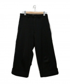Y-3()の古着「W CLASSIC TURN UP TRACK PANTS」|ブラック