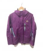 Lowe Alpine(ロウアルパイン)の古着「Tour Snow GTX Jacket W」 パープル