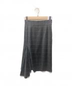 kei shirahata()の古着「デザインスカート」|グレー