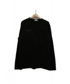 MONCLER(モンクレール)の古着「MAGLIA T‐SHIRT」|ブラック