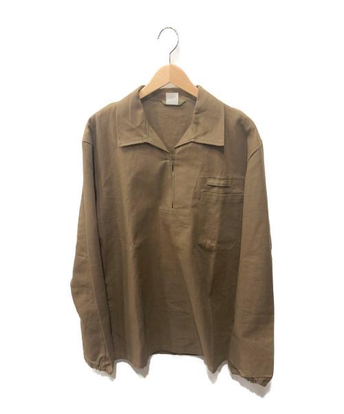 OTAVAN TREBON()OTAVAN TREBON (OTAVAN TREBON) プルオーバーシャツ ブラウン サイズ:なし 未使用品の古着・服飾アイテム