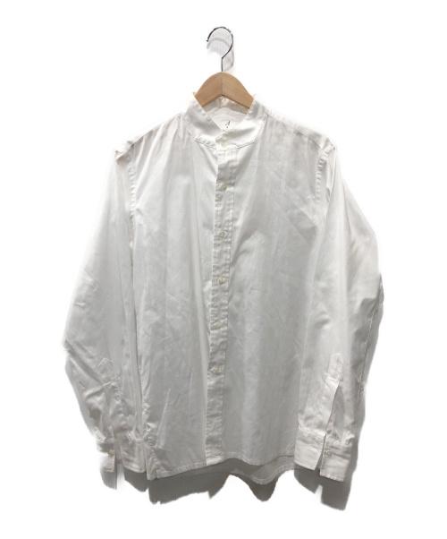 ANATOMICA(アナトミカ)ANATOMICA (アナトミカ) バンドカラーシャツ ホワイト サイズ:表記無しの古着・服飾アイテム