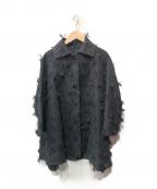 maturely(マチュアリー)の古着「オーバーコート」|ブラック